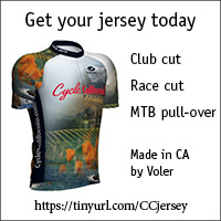 Get your Cycle California! Jersey